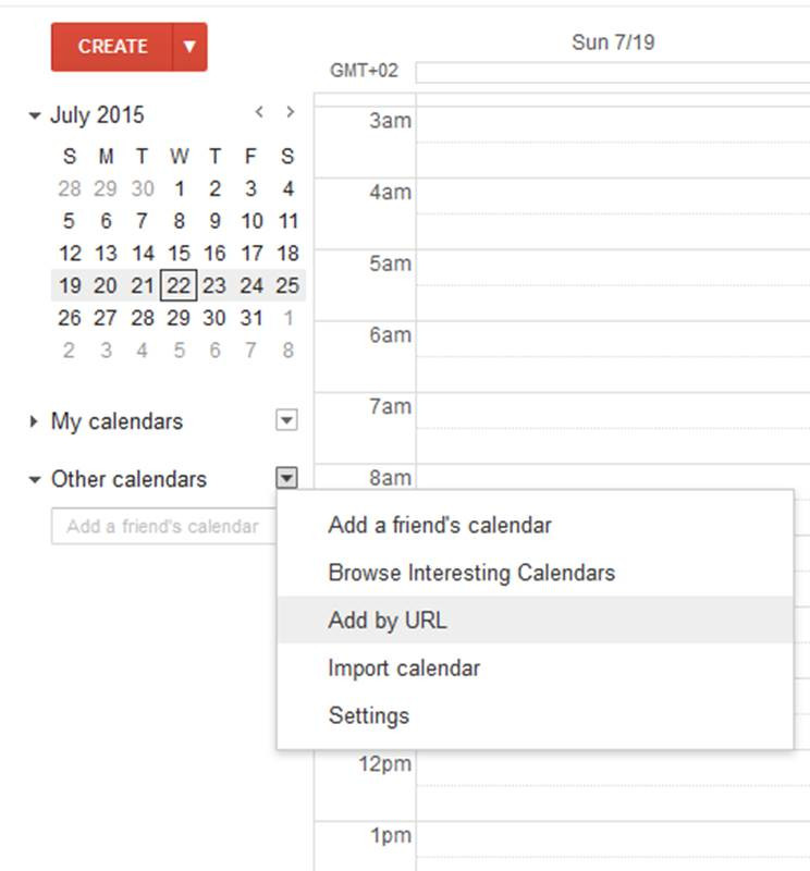 how to add ics file to google calendar